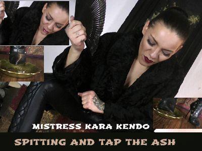 Kara Kendo humiliates with spit